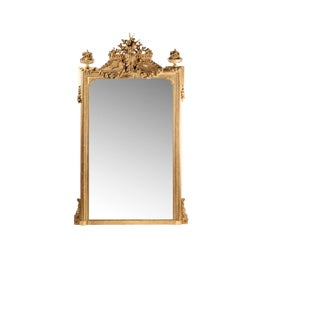 1900s French Louis XVI Style Mirror For Sale