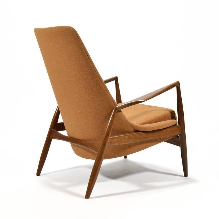 Ib Kofod Larsen High Back Seal Chair   Image 6 Of 8