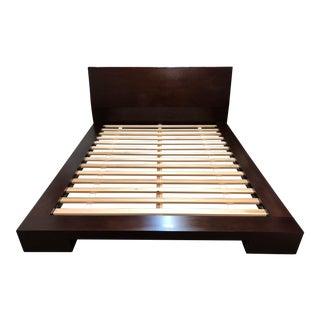 Crate & Barrel Asher Queen Platform Bed