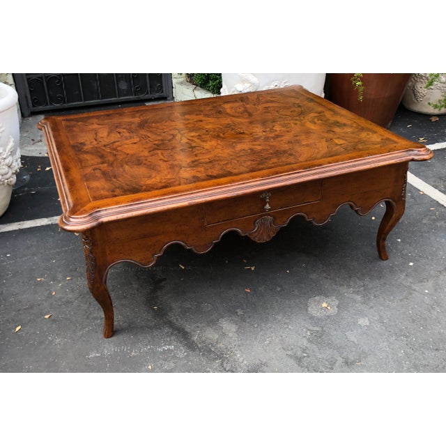 Signed David Michael Formal Living Coffee Table.