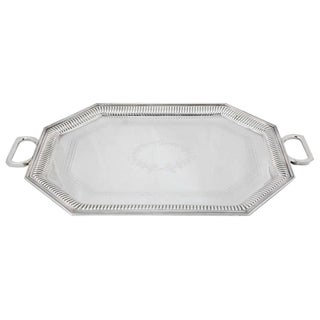 Silver Plated Server For Sale