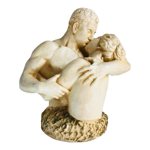 1970s Plaster Figurines Bust For Sale