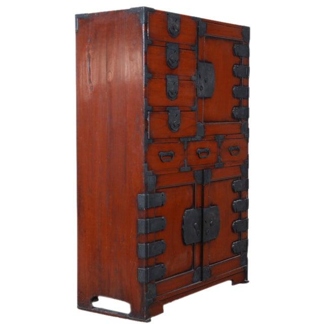 Vintage Japanese Tansu Cabinet - Image 3 of 8