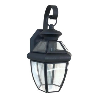 Livex Monterey 1-Light Outdoor Lantern Wall Sconce For Sale