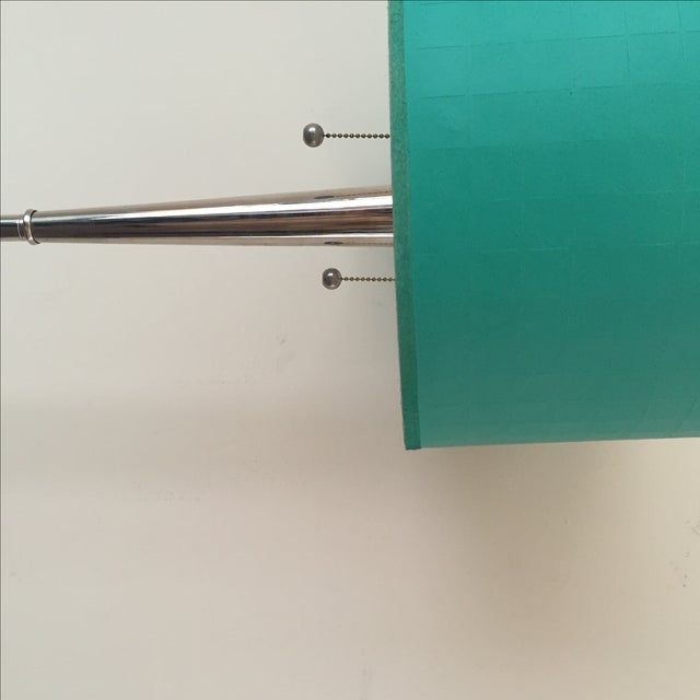 Mid-Century Chrome Floor Lamp - Image 5 of 5