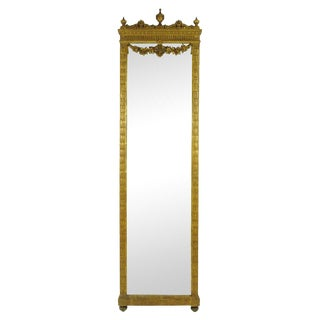 19th Century French Pier Mirror For Sale