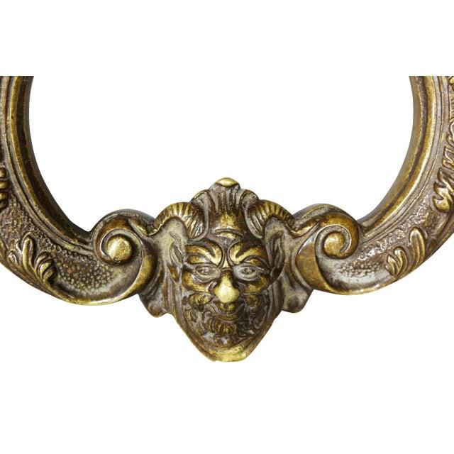 Baroque Italian Bronze Door Knocker For Sale - Image 3 of 6
