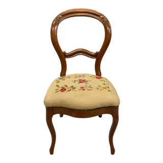 1900s Vintage French Louis Philippe Dining Chair For Sale
