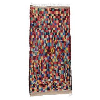 """Rainbow"" Azilal Moroccan Berber Rug For Sale"