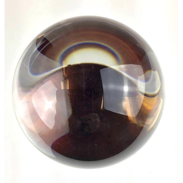 1970s X-Large Crystal Ball For Sale In Portland, ME - Image 6 of 11