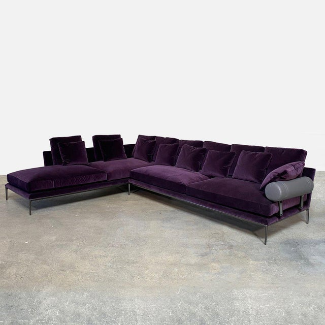 Contemporary B&b Italia 'Atoll' Sectional For Sale - Image 3 of 12