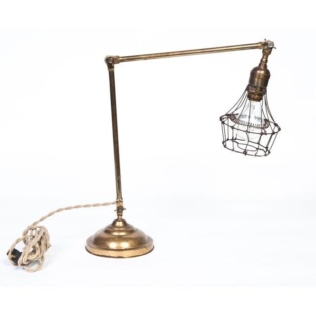 Brass Desk Lamp - Image 2 of 3