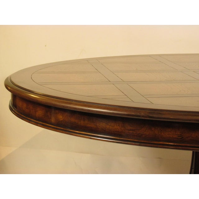 Karges Furniture Louis XVI Karges Grand Center Table For Sale - Image 4 of 11