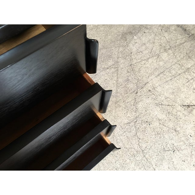 Edward Wormley for Dunbar Ebonized Chests - a Pair For Sale In Los Angeles - Image 6 of 10