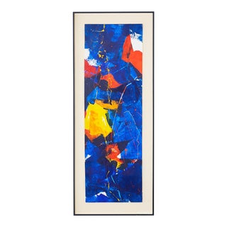 Marguerite Saegesser Abstract Painting For Sale