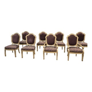 Late 20th Century Marge Carson Dining Chairs - Set of 8 For Sale
