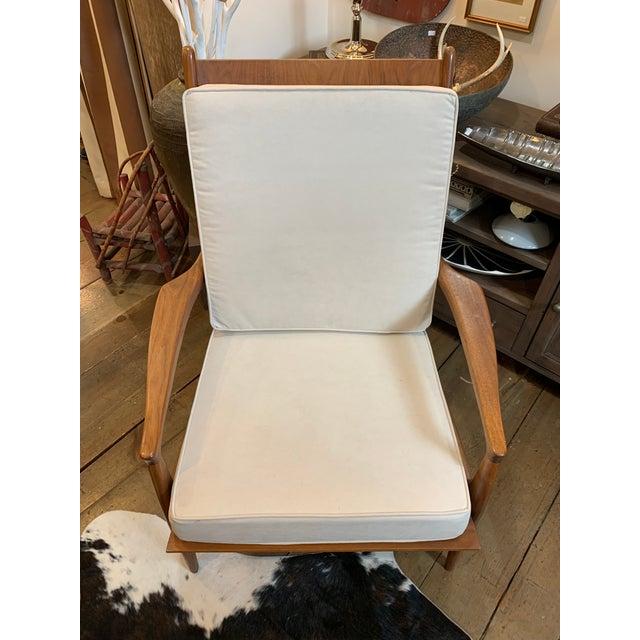 Brown Vintage Mid-Century Milo Baughman Archie Chair For Sale - Image 8 of 8