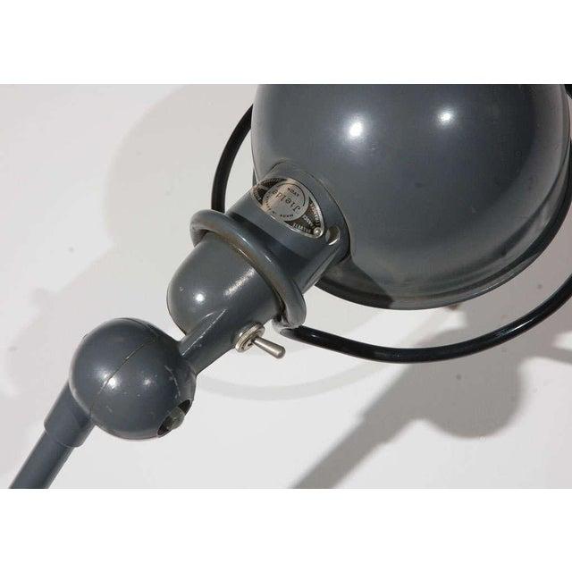 Jielde Vintage Jielde Factory French Industrial Metal Lamp For Sale - Image 4 of 10
