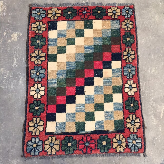 """Gabeh Hand Made Persian Rug - 1'9"""" x 2'5"""" - Image 2 of 10"""