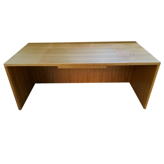 Jesper Danish Modern Flawless Teak Executive Desk For Sale