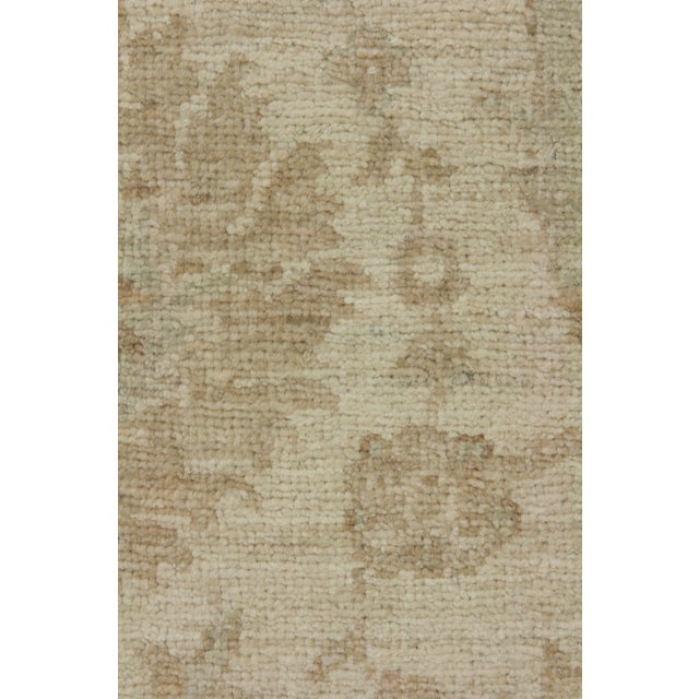 """Traditional Oushak, Hand Knotted Area Rug - 6'1"""" X 9' For Sale - Image 3 of 3"""