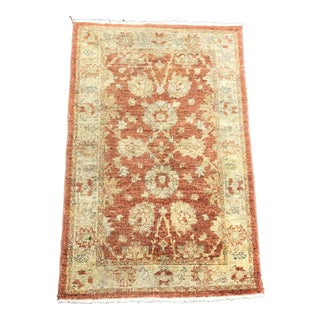Traditional Oriental Hand Woven Area Rug - 2′7″ × 4′
