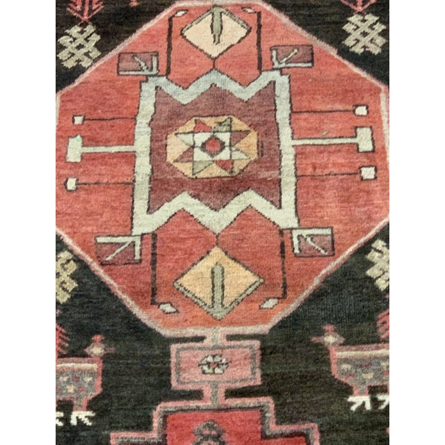 Islamic 1950s Vintage Persian Runner Rug - 3′4″ × 9′ For Sale - Image 3 of 13