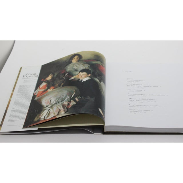 "Black ""Great Expectations"" John Singer Sargent Brooklyn Museum Book and Signature Blue Museum Printed Bag For Sale - Image 8 of 12"
