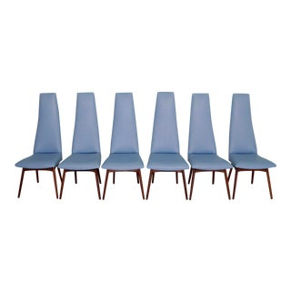 Mid-Century Modern Adrian Pearsall Dining Chairs- Set of 6 For Sale