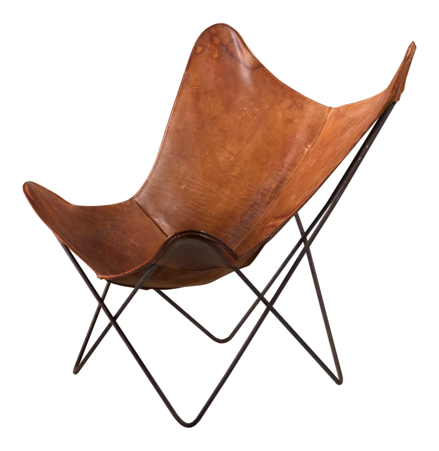 Jorge Ferrari Hardoy Butterfly Chair For Knoll, 1950s   Image 1 Of 4