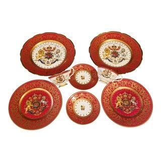 Royal Collection Trust Porcelain Set For Sale