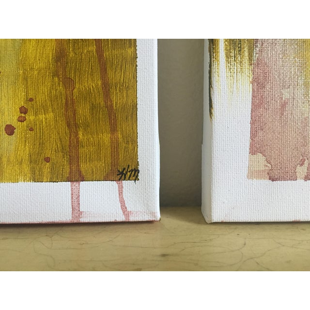 "Modern Abstract Bohemia, Original Art - Pair ""Hiraeth"" - Image 6 of 8"