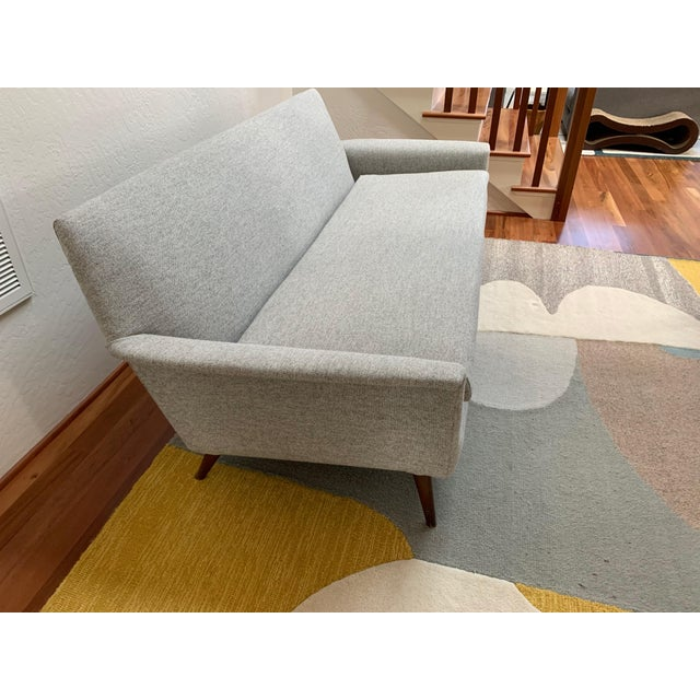 Vintage Mid Century Modern Elegant Sofa For Sale - Image 4 of 13