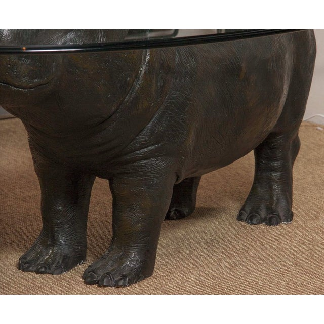 Brown Hippo Table by Mark Stoddart For Sale - Image 8 of 9