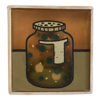 'They Keep It in Jars' Resin Painting