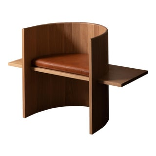 Campagna (| Sit Chair in White Oak For Sale