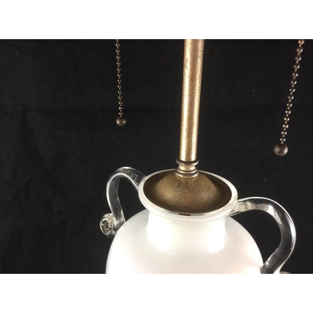 Bohemian Kralik Amphora Urn Table Lamp - Image 2 of 11