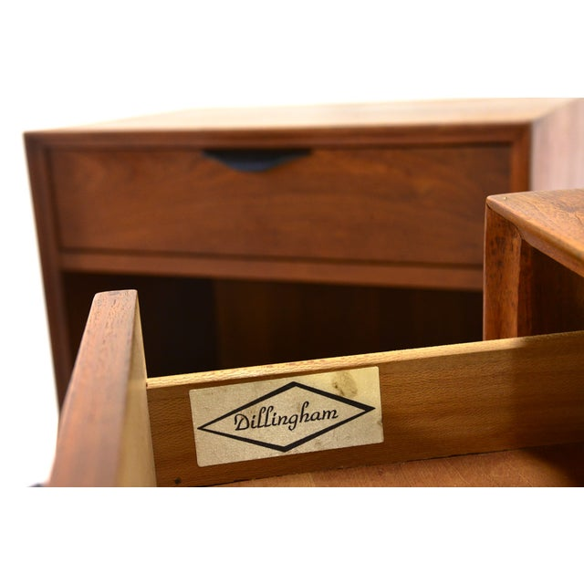 Dillingham Walnut Nightstands - A Pair - Image 4 of 4