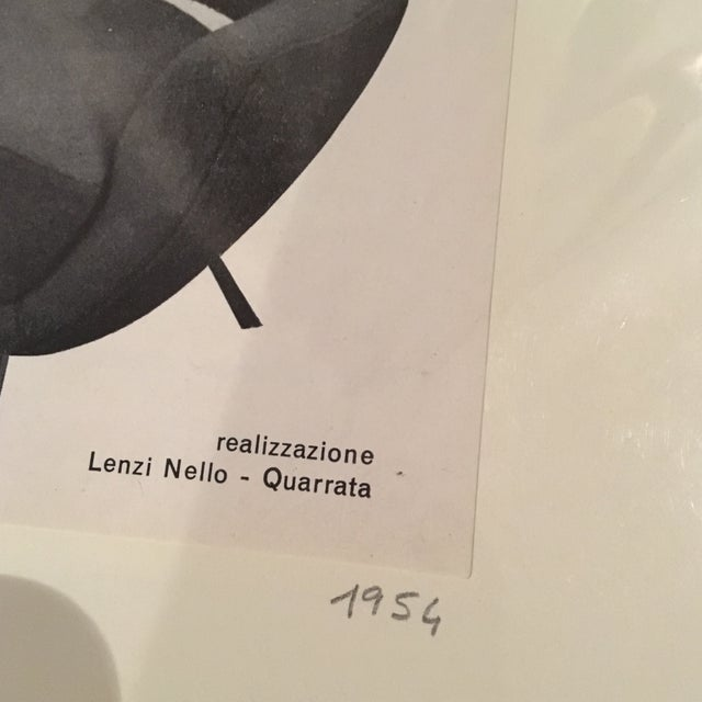 Italian Mid Century Print For Sale - Image 7 of 7