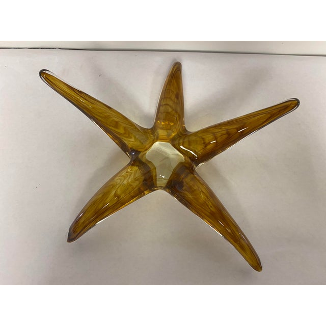 Sea Star Art Glass For Sale - Image 4 of 7