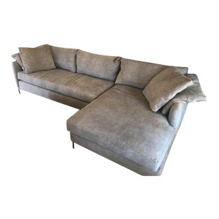 Modern Cisco Custom Made Radley Sectional For Sale