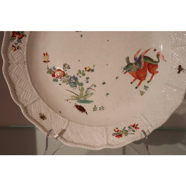 18th Century Porcelain Plate Signed Meissen With Kakiemon Decoration, 1740s For Sale - Image 12 of 13