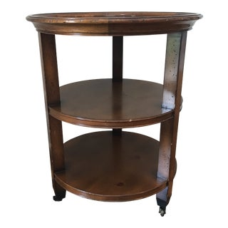 Baker Milling Road Collection Circular Side Table For Sale