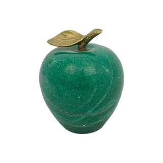 Marble Apple Paperweight