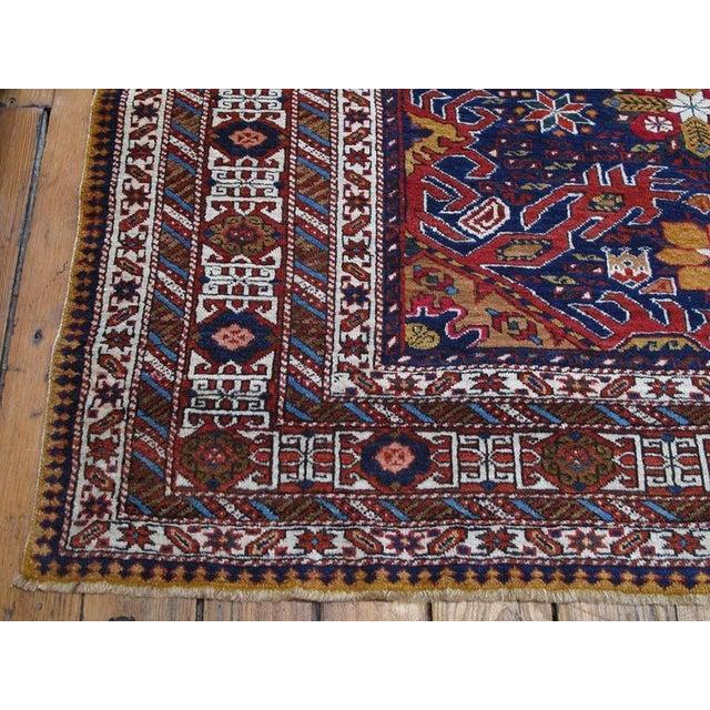 Blue Daghestan or Shirvan Rug For Sale - Image 8 of 10
