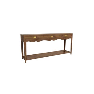 Hickory Chair Peony Console Table