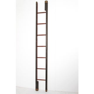 Edwardian Period Mahogany Folding Ladder