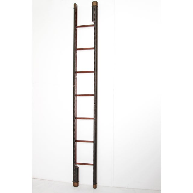 Edwardian Period Mahogany Folding Ladder For Sale - Image 11 of 11