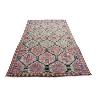 Oversized Large Area Kilim Rug Carpet Runner, Rug for Living Room, Kilim Rug for Diningroom, For Sale