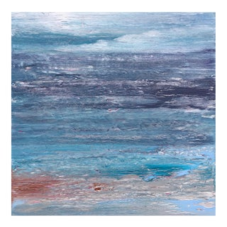 Original Coastal Landscape Modern Contemporary Painting
